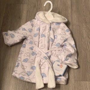 Baby boy bathrobe NWT